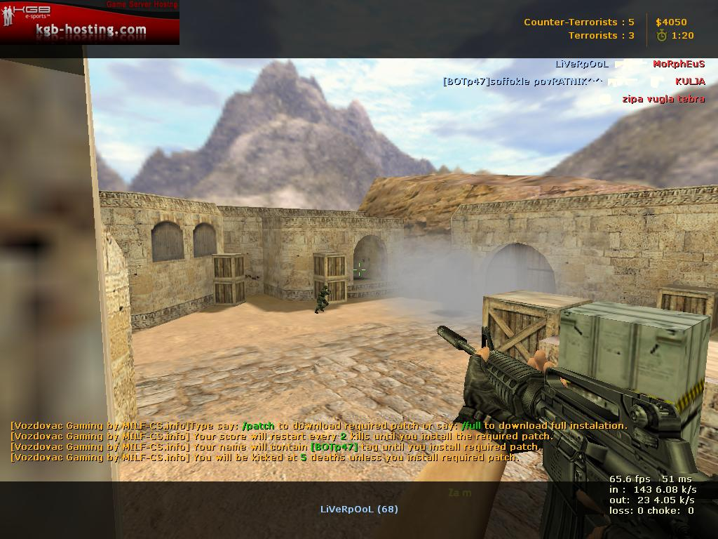 Cs 1. 6 patch v42 free download.